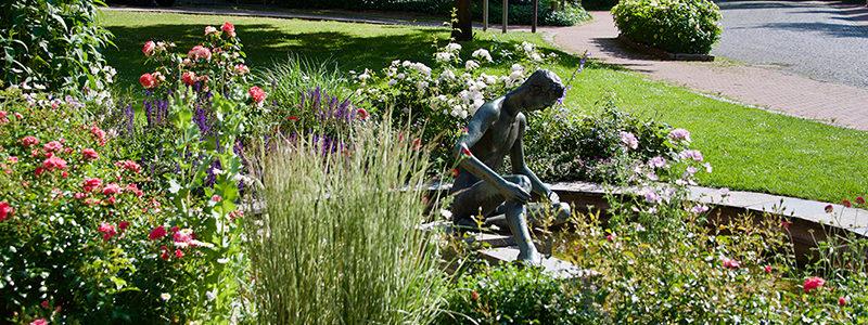 Brunnen im Klostergarten
