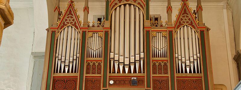 Orgel in der Klosterkirche